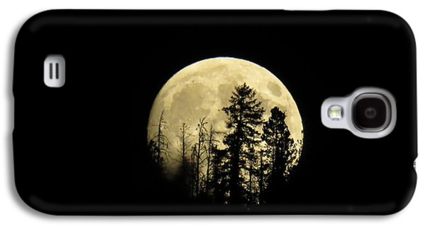 Galaxy S4 Case featuring the photograph Harvest Moon by Karen Shackles
