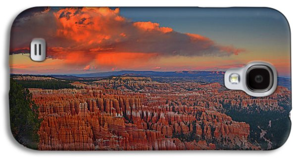 Harvest Moon Over Bryce National Park Galaxy S4 Case