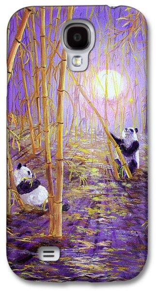 Harvest Moon Pandas  Galaxy S4 Case