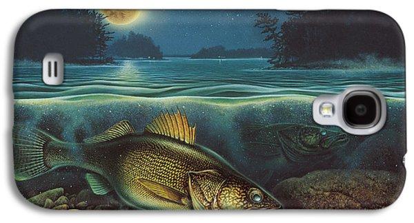 Harvest Moon Walleye IIi Galaxy S4 Case by JQ Licensing