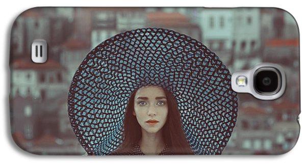 Hat And Houses Galaxy S4 Case by Anka Zhuravleva