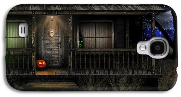 Haunted Halloween 2016 Galaxy S4 Case by Anthony Citro