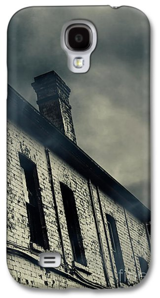 Haunted House Details Galaxy S4 Case