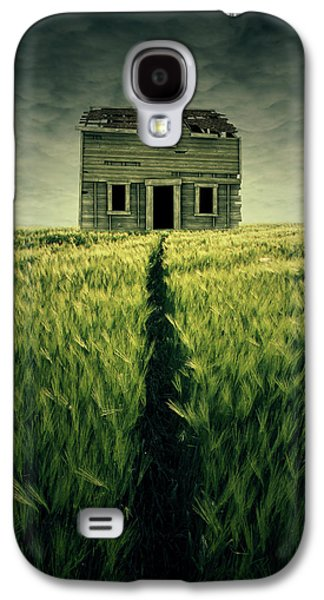 Haunted House Galaxy S4 Case by Zoltan Toth