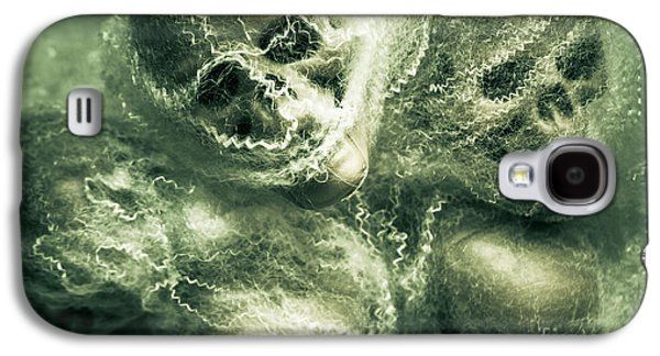 Haunted Undead Skeleton Heads Galaxy S4 Case by Jorgo Photography - Wall Art Gallery