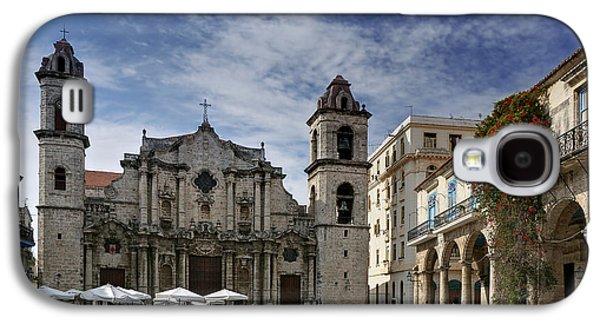 Havana Cathedral. Cuba Galaxy S4 Case