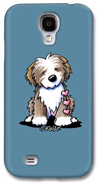 Havanese Heartstrings Galaxy S4 Case by Kim Niles