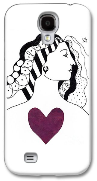 Have A Heart Galaxy S4 Case by Helena Tiainen