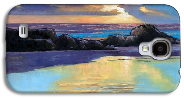 Havik Beach Sunset Galaxy S4 Case by Janet King