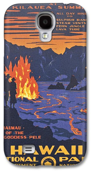 Hawaii Vintage Travel Poster Galaxy S4 Case