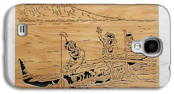 Hawaiian Canoe Galaxy S4 Case