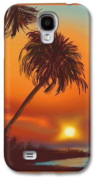 Hawaiian Sunset Galaxy S4 Case