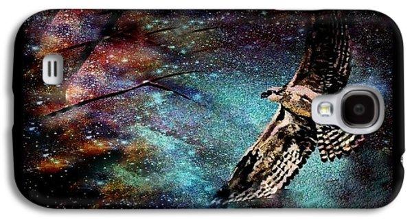 Hawk At Night Galaxy S4 Case by YoMamaBird Rhonda