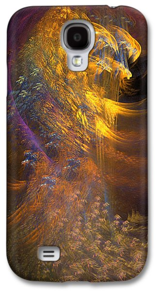 Abstracts Galaxy S4 Cases - Hawk Galaxy S4 Case by Phil Sadler