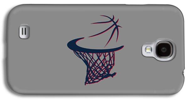 Hawks Basketball Hoop Galaxy S4 Case
