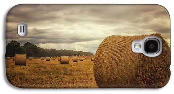 Hay Bales Galaxy S4 Case by Martin Newman