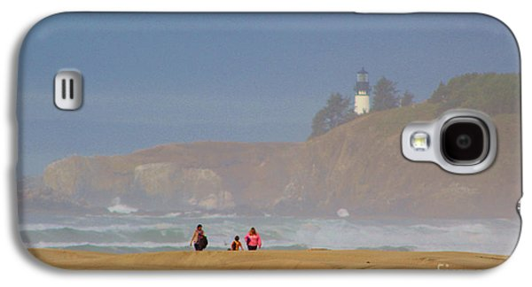 Hazy Day At The Beach Galaxy S4 Case by Michele Martin