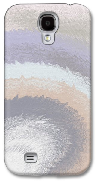 Hazy Morning- Abstract Art By Linda Woods Galaxy S4 Case