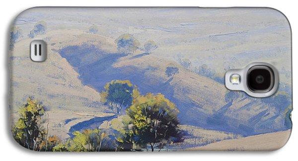 Hazy Morning Lake Windamere Galaxy S4 Case by Graham Gercken