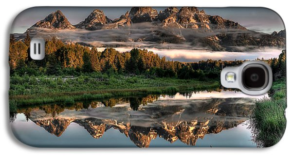 Hazy Reflections At Scwabacher Landing Galaxy S4 Case by Ryan Smith