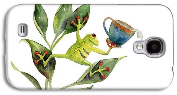 He Frog Galaxy S4 Case by Amy Kirkpatrick