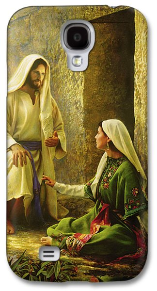 He Is Risen Galaxy S4 Case by Greg Olsen