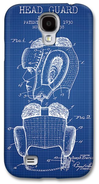 Head Guard Patent From 1930 - Blueprint Galaxy S4 Case