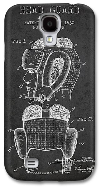 Head Guard Patent From 1930 - Charcoal Galaxy S4 Case