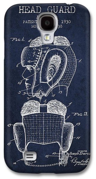 Head Guard Patent From 1930 - Navy Blue Galaxy S4 Case