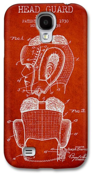 Head Guard Patent From 1930 - Red Galaxy S4 Case