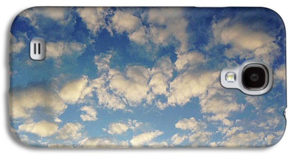 Head In The Clouds- Art By Linda Woods Galaxy S4 Case by Linda Woods