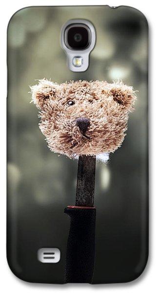 Head Of A Teddy Galaxy S4 Case by Joana Kruse