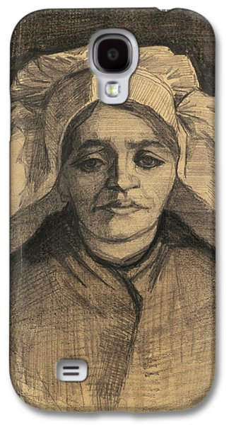 Head Of A Woman, 1885 02 Galaxy S4 Case by Vincent Van Gogh