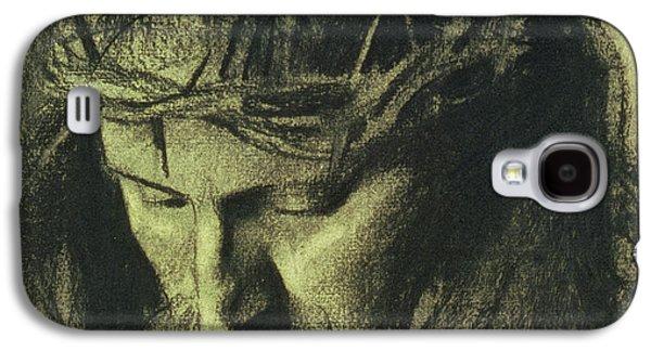Head Of Christ Galaxy S4 Case by Franz Von Stuck