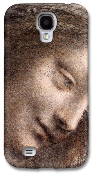Head Of The Virgin Mary Galaxy S4 Case