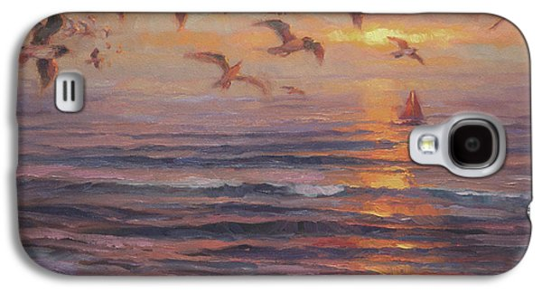 Seagull Galaxy S4 Case - Heading Home by Steve Henderson