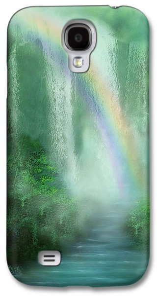 Healing Grotto Galaxy S4 Case by Carol Cavalaris