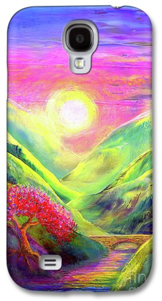 Healing Light Galaxy S4 Case by Jane Small