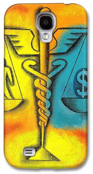 Healthcare Cost Galaxy S4 Case by Leon Zernitsky