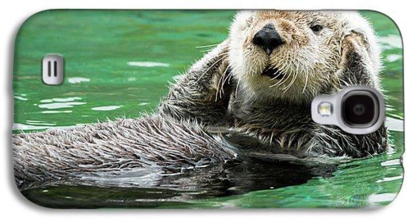 Otter Galaxy S4 Case - Hear No Evil by Mike Dawson