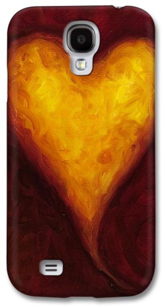 Heart Galaxy S4 Case - Heart Of Gold 1 by Shannon Grissom