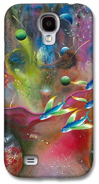 Angel Mermaids Ocean Galaxy S4 Case - Heart Of The Reef by Lee Pantas