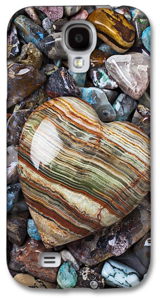 Heart Stone Galaxy S4 Case by Garry Gay