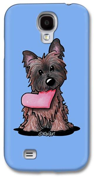 Heartfelt Ash Cairn Galaxy S4 Case by Kim Niles