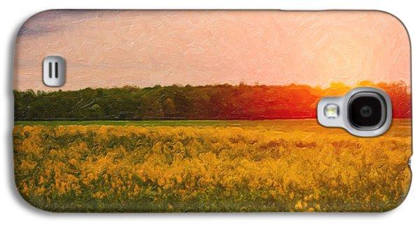 Rural Scenes Galaxy S4 Case - Heartland Glow by Tom Mc Nemar