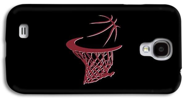 Heat Basketball Hoop Galaxy S4 Case