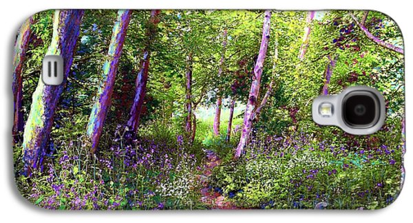 Heavenly Walk Among Birch And Aspen Galaxy S4 Case by Jane Small
