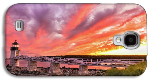 Heavens On Fire - Port Clyde Galaxy S4 Case