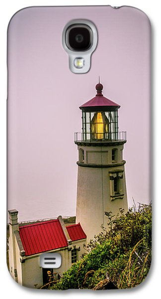 Heceta Head Lighthouse In The Fog Galaxy S4 Case