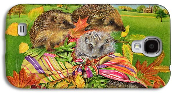 Hedgehogs Inside Scarf Galaxy S4 Case